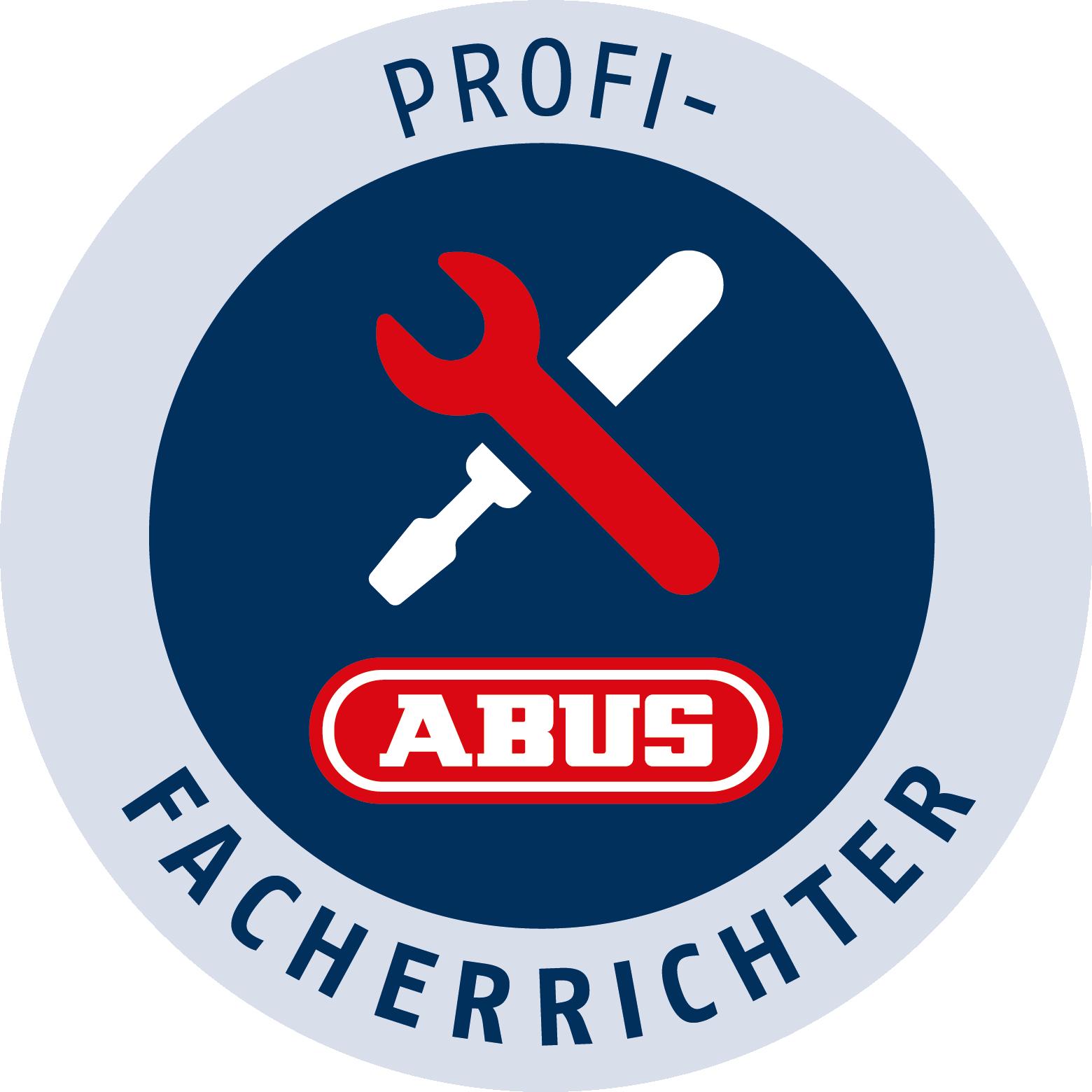 Siegel der ABUS Profi Facherrichter